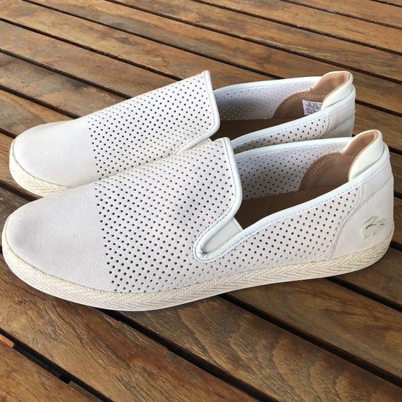 4e772a08fe1592 Lacoste tombre 117 slip on sneaker size 11 NWOT